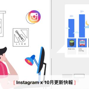 【馬克有話要說】Instagram 廣告產品十月更新